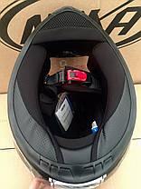 Мото шлем закрытый Naxa (Испания) сертифицирован, фото 3
