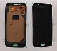 Оригинальный дисплей (модуль) + сенсор для Samsung Galaxy J7 2017 J730   J730F (черный цвет, OLED)