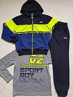 Венгерский спортивный костюм тройка для мальчиков.Размеры 134-152 см.Фирма S&D. Венгрия, фото 1