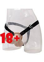 Женский страпон Premium Range Silicone Strap on, фото 1