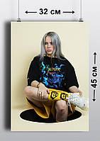 Плакат А3, Билли Айлиш 1