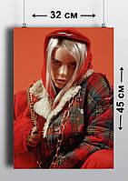 Плакат А3, Билли Айлиш 3