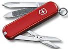 Армейский удобный нож Victorinox Executive 06423 красный