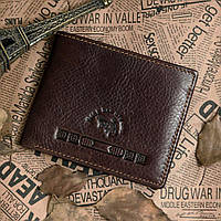 Кошелек Vintage 14116 Коричневый, фото 1