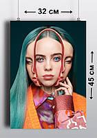 Плакат А3, Билли Айлиш 8