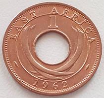 Британская Восточная Африка 1 цент 1962