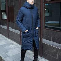 Куртка весняна осіння демісезонна чоловіча видовжена , ХС-10ХХЛ, фото 1