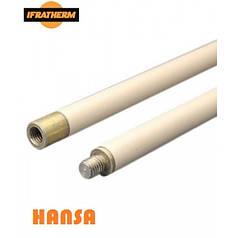 Ручка HANSA для щеток, наборная, гибкая, длина 1,4м