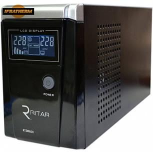Источник бесперебойного питания Ritar RTSW-600D12 (LCD) с правильной синусоидой, фото 2