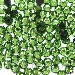 Стразы горячей фиксации DMC, ss10(2.8 мм), Стекло, Цвет: Салатовый (911) (1440 шт.)