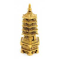 """Пагода каменная крошка """"бронза"""" (12х4,5х5,5 см)"""