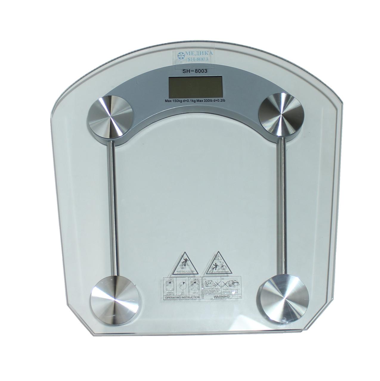 SH-8003 Електронні ваги підлогові (скло).