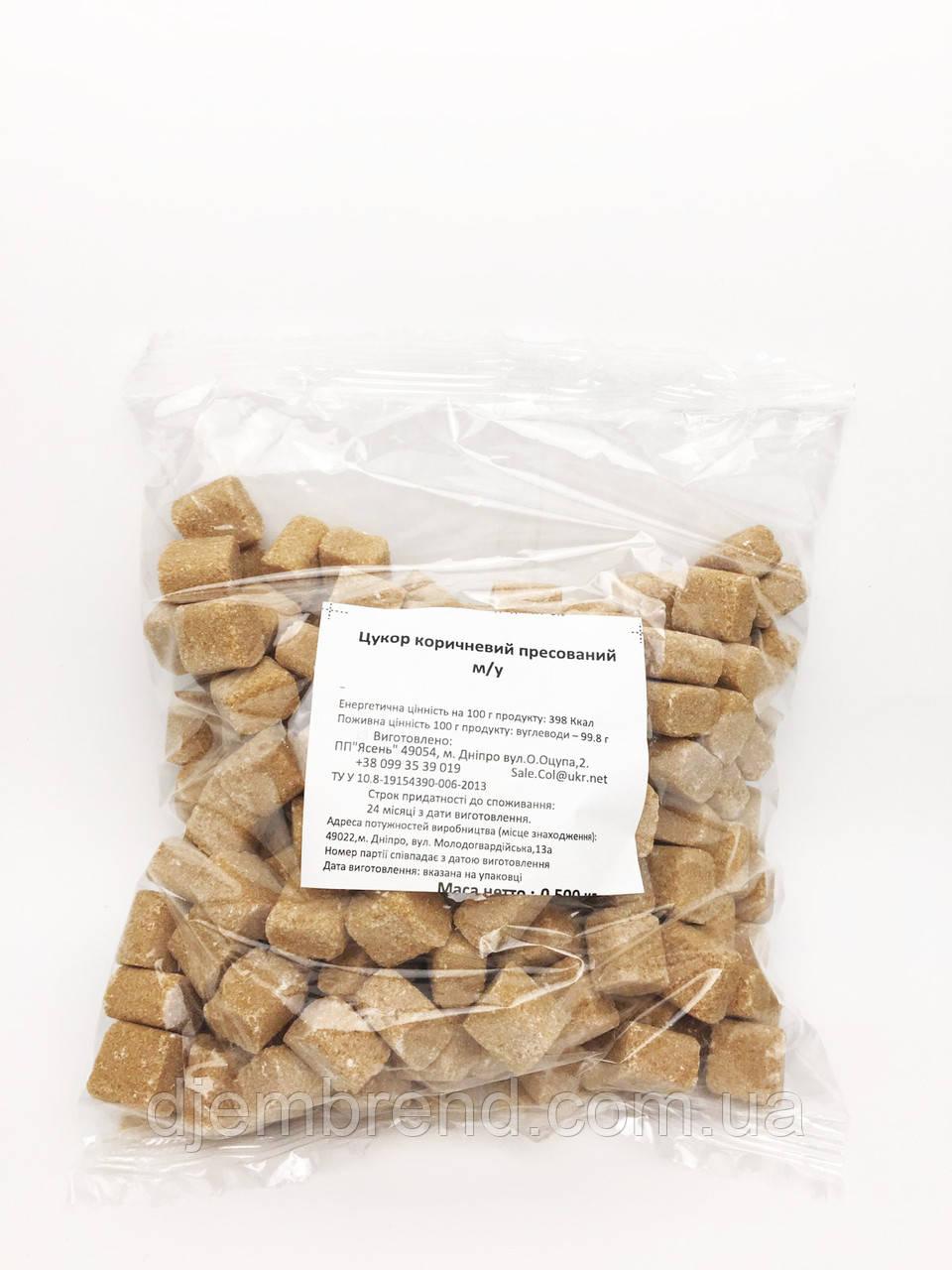 Сахар коричневый пресованый, 0,5 кг
