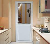 Межкомнатные металлопластиковые ПВХ двери