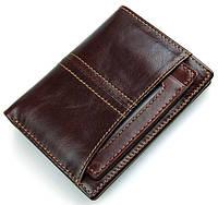 Кошелек мужской Vintage 14373 Коричневый, Коричневый, фото 1