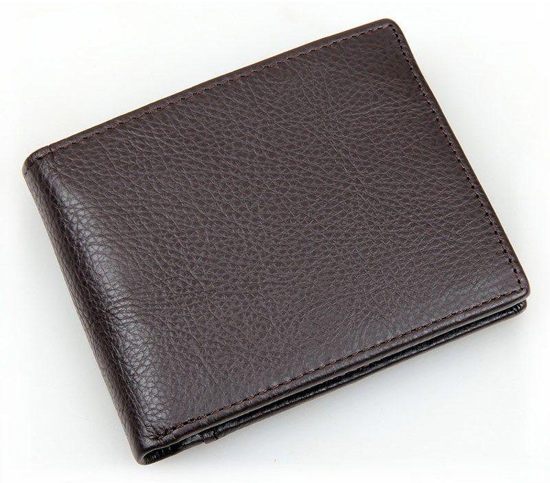 Кошелек мужской Vintage 14403 Коричневый, Коричневый
