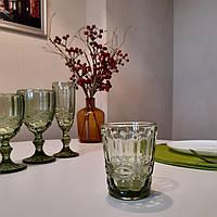 """Набор стаканов из цветного стекла """"Изумруд"""" 240 мл 6шт арт.6440"""