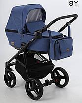 Дитяча універсальна коляска 2 в 1 Adamex Reggio Y8