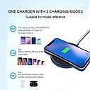 Беспроводное зарядное устройство TOPK 10 Вт Qi для iPhone X XS XR 8 Plus быстрая samsung S8 S9 S10 Xiaomi Mi 9, фото 7