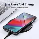 Беспроводное зарядное устройство TOPK 10 Вт Qi для iPhone X XS XR 8 Plus быстрая samsung S8 S9 S10 Xiaomi Mi 9, фото 4