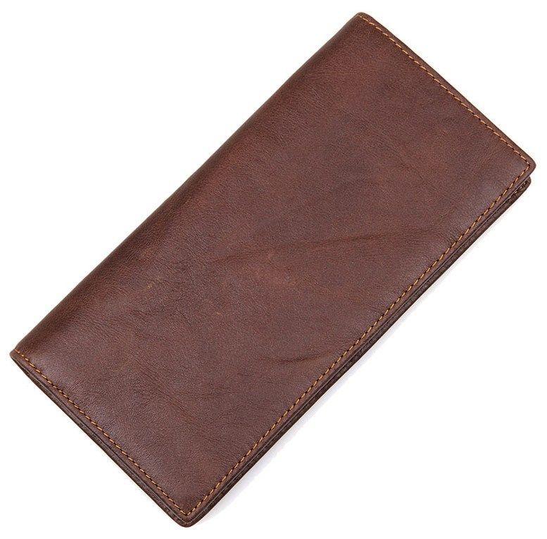 Кошелек мужской Vintage 14426 Коричневый, Коричневый