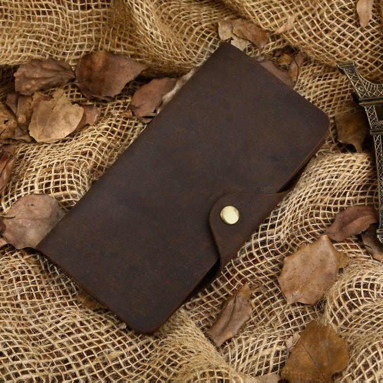 Кошелек мужской Vintage 14443 Коричневый, Коричневый