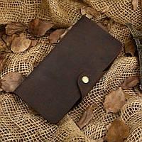 Кошелек мужской Vintage 14443 Коричневый, Коричневый, фото 1