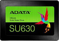 """Твердотельный накопитель 240Gb, A-Data Ultimate SU630, SATA3, 2.5"""", 3D QLC, 520/450 MB/s (ASU630SS-240GQ-R)"""