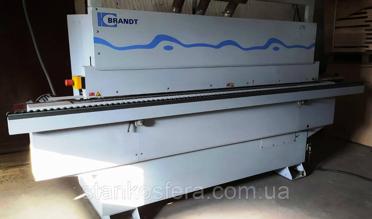 Кромкооблицовочный станок б/у Brandt Ambition 1200 (Optimat KDN210) 2012г.