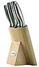 Набор ножей из нержавеющей стали на подставке Maestro MR-1420 (6 шт) | кухонный нож | ножи Маэстро, Маестро, фото 4