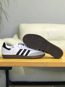 Кроссовки мужские в стиле Adidas SAMBA OG Cloud White белые