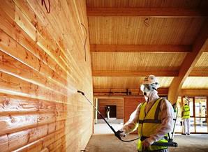Вогнезахисного оброблення (просочення) деревини і тканин