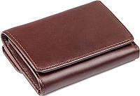 Кошелек Vintage 14469 кожаный Коричневый, Коричневый, фото 1