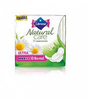 Прокладки гигиенические Libresse Natural Care Ultra Normal, 10 штук