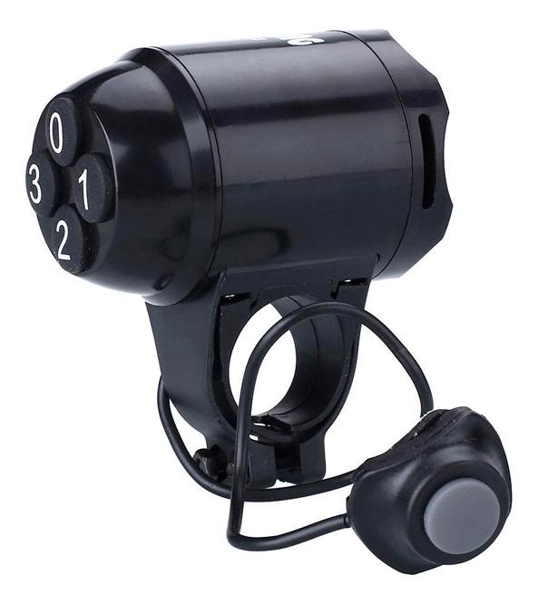 Велосипедний дзвінок сигналізація Sunding SD - 603 Чорний