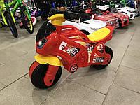 Мотоцикл толокар беговел Технок. Красный