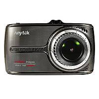 Видеорегистратор Anytek G66 TF карта 170 градусов Night Vision сенсорный экран Full HD G-sensor карта памяти