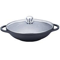 Сковорода WOK с антипригарным покрытием Maestro MR-4832 (32 см) | сковорода вок Маэстро | сковородка Маестро