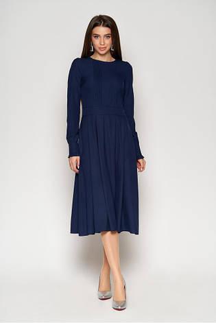 Жіноча сукня з спідницею підлозі-сонце (3 кольори), фото 2