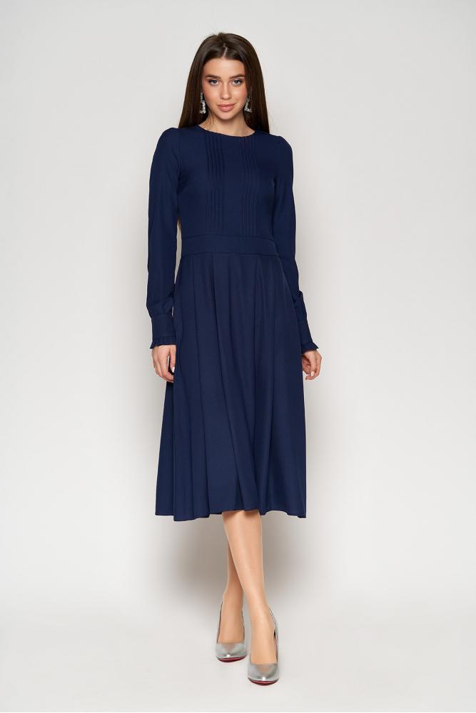 Жіноча сукня з спідницею підлозі-сонце (3 кольори)