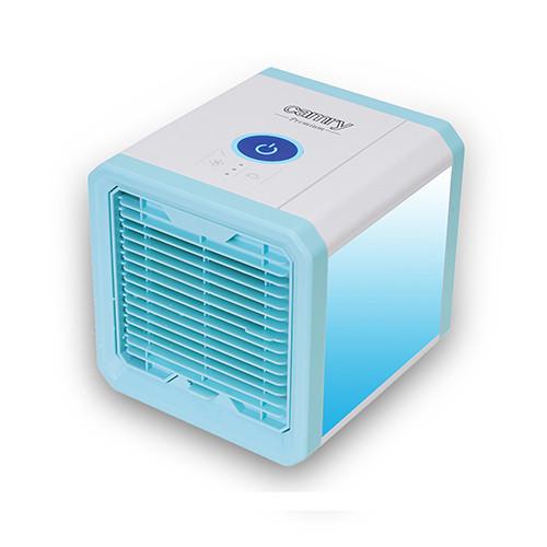 Портативный охладитель воздуха Camry 7318 3в1 (охлаждает, очищает и увлажняет) - LED 7 цветов, 50Вт