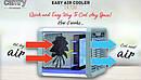 Портативный охладитель воздуха Camry 7318 3в1 (охлаждает, очищает и увлажняет) - LED 7 цветов, 50Вт, фото 5