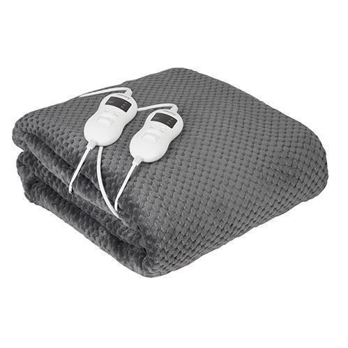 Электрическое одеяло с таймером Camry CR 7417 двухспальное для обогрева мощность 120 Вт, 150 см *160 см
