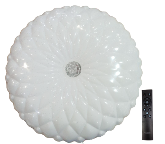 Світ-ік LED з пульт.кер.3 реж.осв.3000-4000-6500K 50W BERGAMO коло (5/ящ)ТМ LUMANO (12 міс.ГАР)