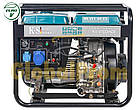 Дизельный генератор Könner & Söhnen KS 6100HDE (двигатель Euro V), фото 3