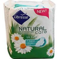 Прокладки Libresse Natural Care Ultra Super, 9 шт.