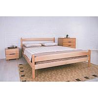 Кровать Олимп Лика с изножьем массив бука