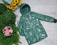 Куртка для девочки осень  весна код 263 М  размеры на рост от 140 до 164 возраст от 10 лет и старше, фото 1