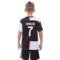 Форма футбольная детская Juventus Ronaldo 1284: размер 110-155см, фото 1