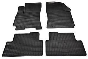 Автомобильные коврики резиновые в салон для Daewoo Lanos Sens клетка